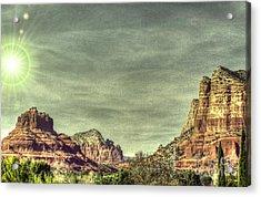 High Country Acrylic Print by Dan Stone