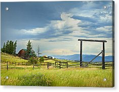 High Country Farm Acrylic Print