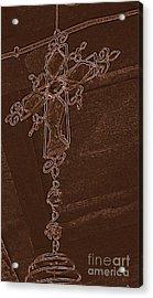 High Cross Up Above  Acrylic Print