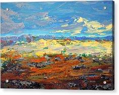 High Desert Acrylic Print by Marilyn Hurst