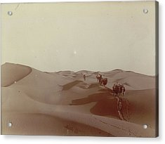 High Dunes South Of Camp 328 Acrylic Print by British Library