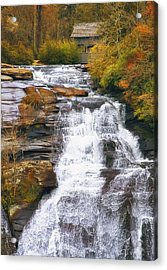 High Falls Acrylic Print by Scott Norris