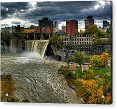 High Falls Acrylic Print by Tim Buisman
