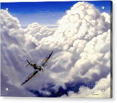 High Flight Acrylic Print by Michael Swanson