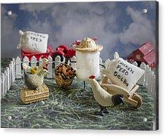 High Fructose Farming Acrylic Print by Heather Applegate