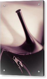 High Heel Of A Brown Shoe Acrylic Print