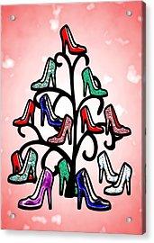 High Heels Tree Acrylic Print by Anastasiya Malakhova