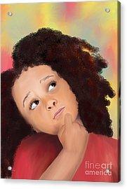High Hopes Acrylic Print by Sydne Archambault