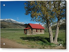 High Lonesome Ranch Acrylic Print
