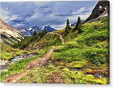 High Mountain Trail Acrylic Print