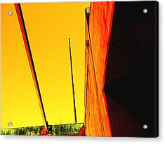 High Noon Acrylic Print by Wendy J St Christopher