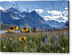 High Plains Acrylic Print
