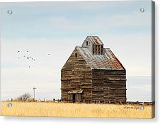 High Plains Autumn Acrylic Print