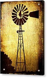 High Prairie Sentinel Acrylic Print