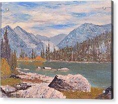 High Sierra Lake Acrylic Print