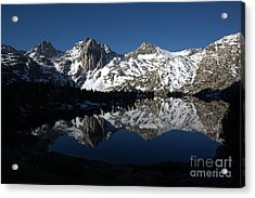 High Sierra Mountain Reflections 1 Acrylic Print