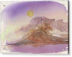 High Sierra Storm Acrylic Print
