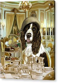 High Tea At The Ritz Acrylic Print