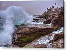 High Tide At Windansea Beach Acrylic Print