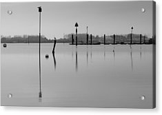 High Tide Ripples Acrylic Print