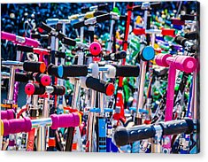High Time To Buy A Scooter 1 Horizontal Acrylic Print by Alexander Senin