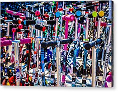 High Time To Buy A Scooter 3 Horizontal Acrylic Print by Alexander Senin