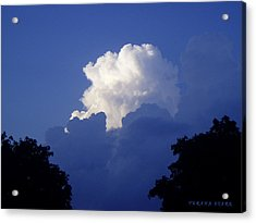 High Towering Clouds Acrylic Print