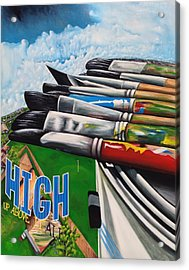 High Up Above It All Acrylic Print by Randy Segura