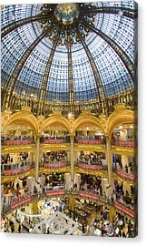 High View Of The Domed Central Area Of Acrylic Print by Ian Cumming