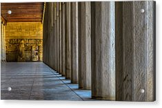 Higher Education Acrylic Print by Capt Gerry Hare