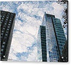 Higher Sight Acrylic Print by Aeabia A