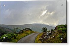 Acrylic Print featuring the photograph Highland Bridge Scotland by Sally Ross