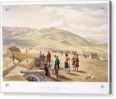 Highland Brigade Camp Acrylic Print by British Library