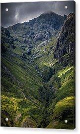 Highland Crevasse Acrylic Print