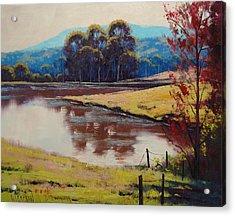 Highland Dam Acrylic Print by Graham Gercken