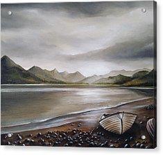 Highland Evening Acrylic Print by Sean Afford