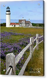 Highland Lighthouse Acrylic Print by Paula Guttilla