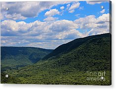 Highland Peace And Serenity Acrylic Print by Rachel Cohen