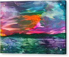 Highland Skies Acrylic Print