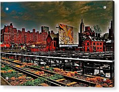 Highline Nyc Acrylic Print by Joe  Burns