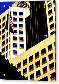 Acrylic Print featuring the photograph Highmark by Mary Beth Landis