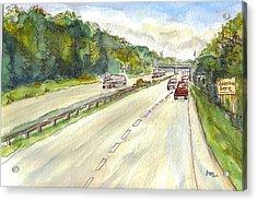 Highway 95 Acrylic Print