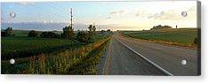 Highway Eastern Ia Acrylic Print