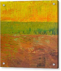 Acrylic Print featuring the painting Highway Series - Soil by Michelle Calkins
