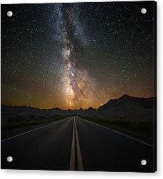 Highway To Heaven Acrylic Print by Aaron J Groen