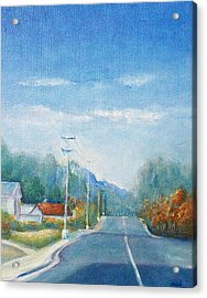 Highway To Heaven Acrylic Print by Jane  See