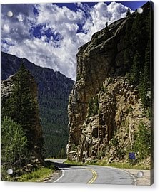 Highway To Heaven Acrylic Print by Tom Wilbert