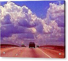 Acrylic Print featuring the photograph Highway To Heaven Too by Joetta Beauford
