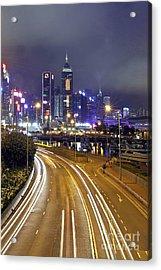 Highway To Hong Kong Acrylic Print by Lars Ruecker