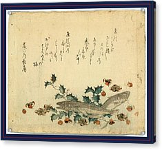 Hiiragi Ni Iwashi Ni Ume Acrylic Print